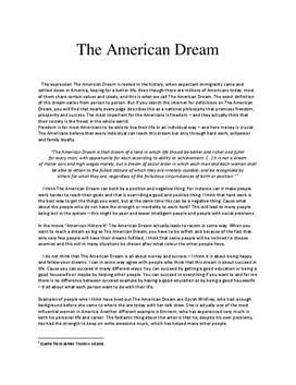Daughter of immigrants challenges the American Dream