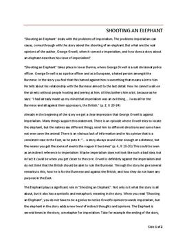 Shooting An Elephant Essay  Essay Related Questions Cheap Press Release Writing Service also Apa Bibliography Online  Narrative Essay Example High School