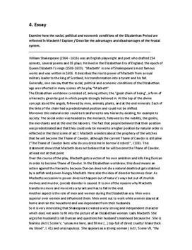 transformation of macbeth essay