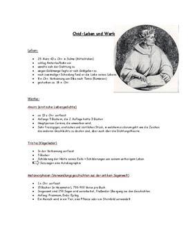 Ovid - Leben und Werk