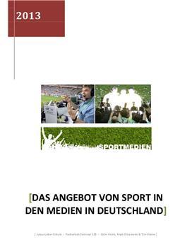 Sport in den Medien in Deutschland