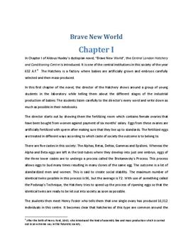 the portrayal of two distinct societies in aldous huxley brave new world Aldous huxley essays biography aldous leonard huxley was born on visions of aldous huxley's brave new world aldous huxley creates two distinct societies.