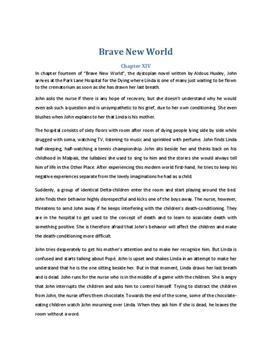 Brave New World Zusammenfassung Kapitel 14