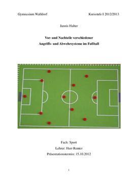 Vor- und Nachteile verschiedener Angriffstaktiken im Fussball