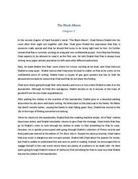 The Black Album Zusammenfassung Kapitel 2
