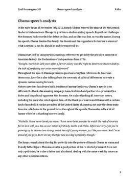 Obama Re Election Speech Analyse Schulhilfe De