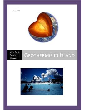 Geothermie in Island