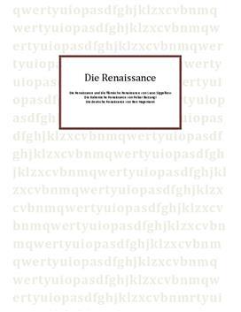 Referat über die Renaissance