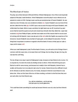 merchant of venice play in simple english pdf