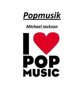 Facharbeit über Popmusik - Michael Jackson
