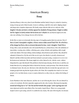 Beauty essays
