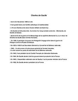 Charles de Gaulle Referat