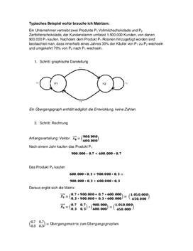 Referat - Beispiel einer Matrix