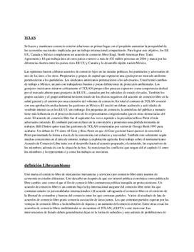 Referat über NAFTA - das Nordamerikanische Freihandelsabkommen