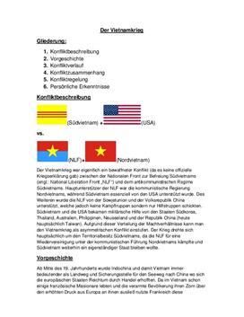 Facharbeit - Analyse des Vietnamkrieges