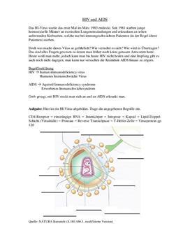 Facharbeit über HIV und AIDS