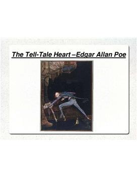Referat über The Tell-Tale-Heart by Edgar Allan Poe