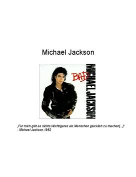 Referat über Michael Jackson