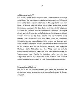 Facharbeit über Aerosole