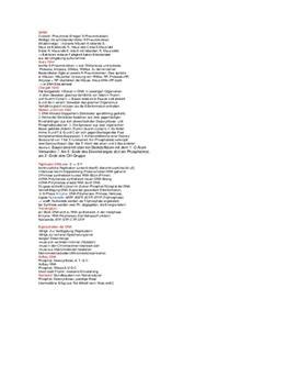 Notizen für Klausur Biologie GK Genetik