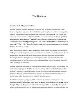 The Graduate Charakterisierung Benjamin und Mrs Robinson