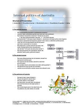 Referat: Innenpolitik von Australien