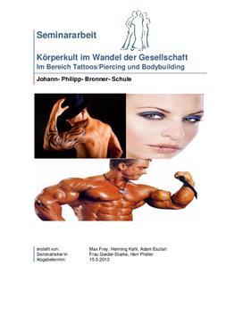 """Facharbeit über """"Körperkult"""""""