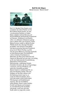 "Filmkritik zu ""Shutter Island''"