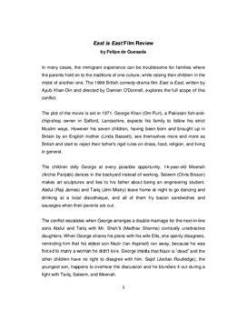 """Filmkritik und Zusammenfassung zu """"East is East"""""""