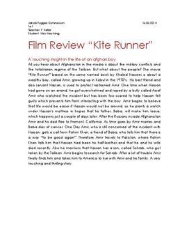 """Zusammenfassung und Filmkritik zu """"Kite Runner"""""""