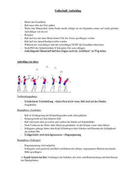 Referat: Volleyball - Aufschlag