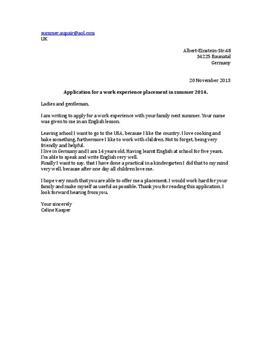 argumentation bewerbung auf englisch - Englisch Bewerbung