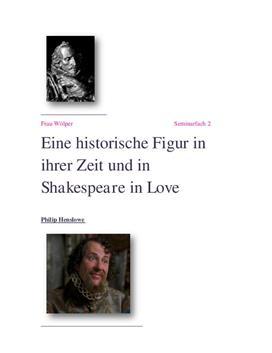 Facharbeit: Philip Henslowe - Realität und Fiktion