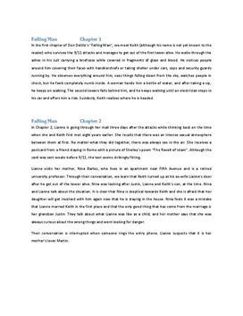 Falling Man Zusammenfassung Kapitel 1 und 2