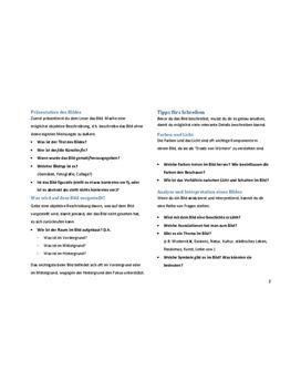 Guide für Bildbeschreibung in Englisch herunterladen - Seite 2