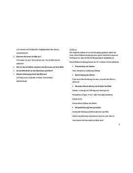 Guide für Bildbeschreibung in Englisch herunterladen - Seite 3