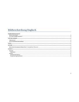 Guide für Bildbeschreibung in Englisch herunterladen