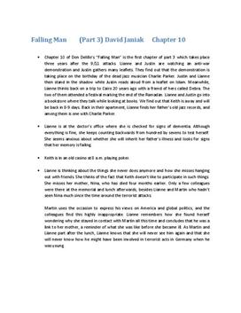 Falling Man Zusammenfassung Kapitel 10