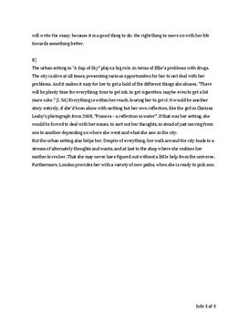a gap of sky essay A gap of sky essay example a gap of sky we all know that partying and hanging out with friends is more fun than studying and doing homework that is a part of youth.