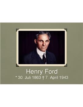 Referat - Henry Ford Powerpoint Vortrag