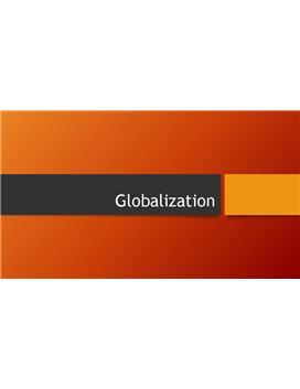 Referat - Globalization