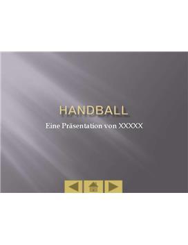Referat - Handballpräsentation