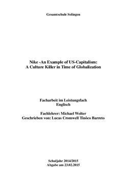 Facharbeit - Globalization