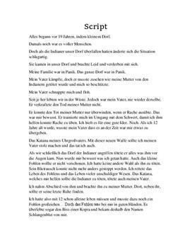 Das Gold von Huso - Selbstgeschriebene Kurzgeschichte