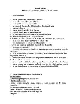 El burlador de Sevilla - Referat