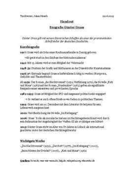Biografie: Günter Grass
