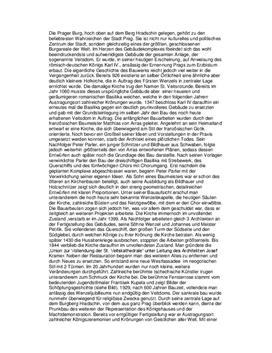 Prags Architektur - Referat