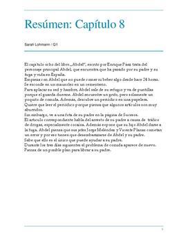 Resúmen Abdel Capítulo 8 Schulhilfede
