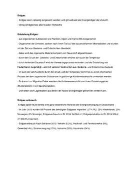 Erdgas - Referat