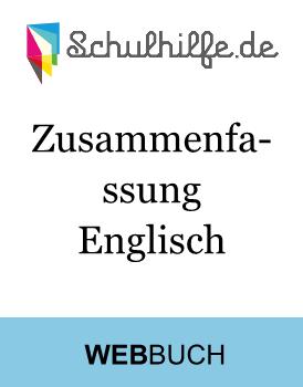 Einleitungssatz Zusammenfassung Englisch